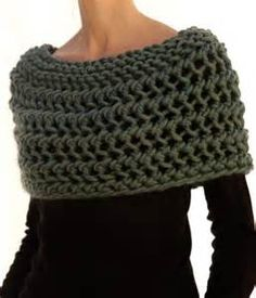 Knitted Capelet Pattern - Bing images