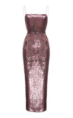 Camisole Sequin Gown by RASARIO for Preorder on Moda Operandi