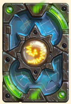 This Hearthstone Update charges the nether coils as we get ready to pull the big, shiny lever that unleashes Hearthstone's newest Expansion: The Boomsday Project, starting August Game Card Design, Hearth Stone, Card Ui, Elemental Powers, Game Textures, Old Cards, Card Book, Wow Art, Stone Heart