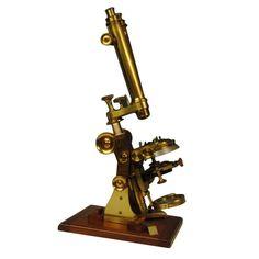 Fine microscope by Steward