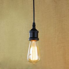 E27 light socket i shape vintage retro edison bulb pendant lamp light socket i shape vintage retro edison bulb pendant lamp holder with hanging wire mozeypictures Gallery