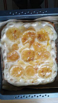 Cytrynowy mazureczek, pycha!:)