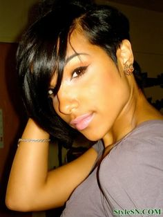 Fabulous 1000 Images About Cute Cuts On Pinterest Black Women Short Hairstyles For Men Maxibearus