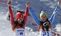 #Sochi 2014: Women's downhill features first shared gold medal in #Olympic history