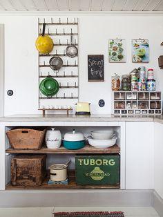 A restored old kitchen