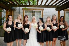 Venue: The Edgewater Photographer: Kristen Honeycutt Photographer Planner  Vintage Rentals: EVENTful Moments Florist: Flowers by Tiffany Cake/Cupcakes: Cake Envy Rentals: Grand Event Rentals gold, blush, black, wedding
