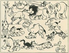 """A couple years ago, our pals at the ASIFA-Hollywood Animation Archive scanned in this """"how-to-draw"""" book by animation pioneer William C. ..."""