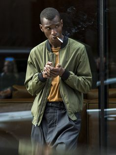 damplaundry: Adonis Bosso at LCM S/S 2016 by Reuben Moore