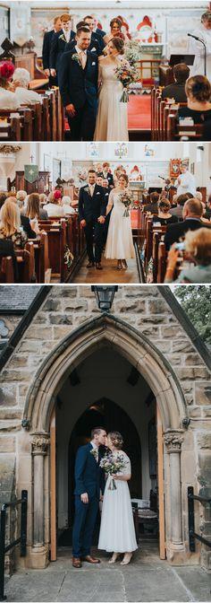 #yorkshirewedding #yummyyorkshire #churchwedding #vows #bride #groom #love