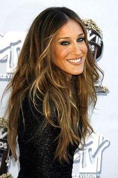 image of Natural Wedding HairStyles ♥ Long Loose Curls Wedding Hair