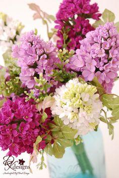 DK Designs: Lilac Bouquet - Part II
