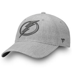 huge discount 3f031 8758c Men s Tampa Bay Lightning Fanatics Branded Gray Team Haze Adjustable Snapback  Hat, Sale   16.49 - You Save   5.50