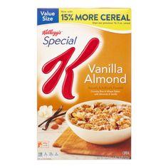 Special K Cereal, Vanilla Almond, 18.8 Oz | Jet.com