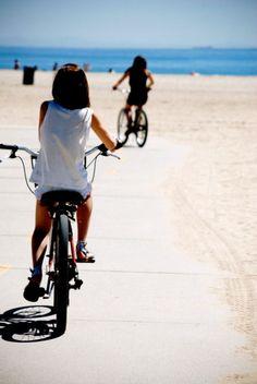 bike rides on the beach