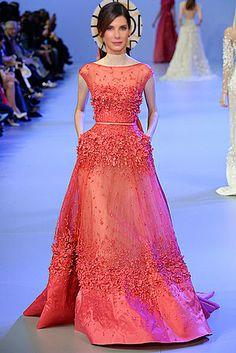 Sandra Bullock wore Prabal Gurung to the 2014 Golden Globes.   16 Oscar Dress Picks That Would Really Shake Things Up