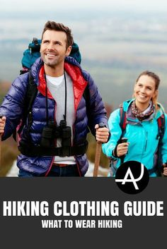 What to Wear Hiking – Hiking Clothes for Summer, Winter, Fall and Spring – Hiking Outfits for Women, Men and Kids – Backpacking Gear For Beginners Hiking Tips, Hiking Gear, Backpacking Gear, Camping Gear, Hiking Backpack, Tent Camping, Hiking Boots, Camping Cabins, Hiking Shirts