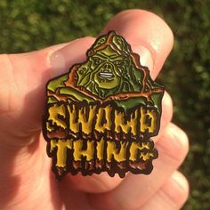 #Repost @pin_house  Our Swamp Thing inspired pin has officially crept his way into our shop! I'm super stoked with this design and how he came out! | Only 17 remain!!! | Get him while you can | http://ift.tt/2alUOCs | Link to our shop is in our bio | #pin_house #pins #hatpins #hatpinsforsale #art #artist #artwork  #pingameproper  #hatpingame #pinsofig #softenamelpins #pinsofinstagram #pinsforthepeople #pin #pinsale #pinstagram #enamelpins #pingame #pingang #pingamestrong  #illustration…