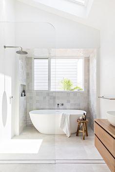Pre-order the Fresh Edition 2020 — Adore Home Magazine White Bathroom Tiles, Bathroom Renos, Laundry In Bathroom, Modern Bathroom, Bathroom Beach, Ensuite Bathrooms, Cheap Dorm Decor, Laundry Design, House And Home Magazine