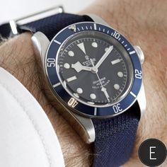 Tudor Heritage Black Bay - Blue