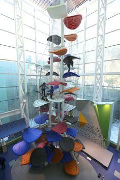 *잭과 콩나무, 경기도 어린이 박물관 [ Luckey ] Gyeonggi Children's Museum Climbing Gym