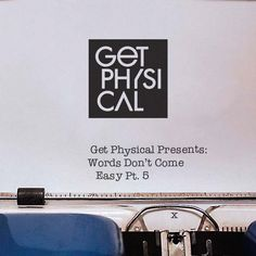 #housemusic Words Don't Come Easy pt.5: Now into its 15th year, Get Physical continues to lead from the front with the fifth instalment in…