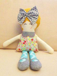 the cutest handmade doll!! Handmade Doll - the Olivia