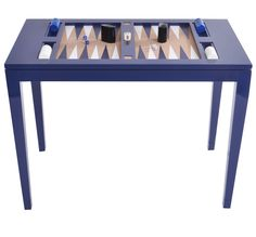 Backgammon Set - Lacquer Finish Leather Board and Pieces - comes in 16 colors or custom
