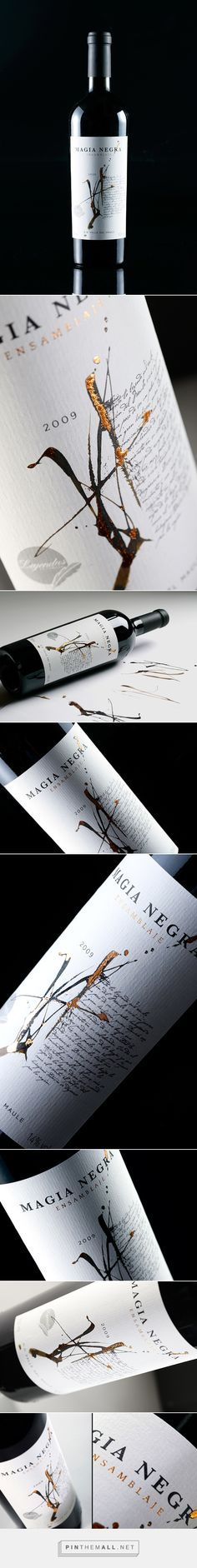 Magia Negra Wine Label by Labdiseño Chile