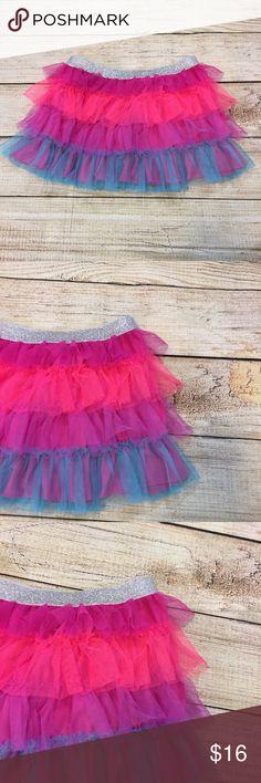 Freestyle Danskin colorful tulle skirt Super cute ballet tutu tulle skirt. NWT. Never worn. Size 7/8. Freestyle Bottoms Skirts
