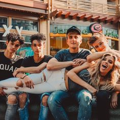LUCAS&MARCUS DOBRE and JAKE PAUL and ALEX LANGE and ALISSA VIOLET