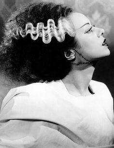 Elsa Lanchester as the Bride of Frankenstein (1935)