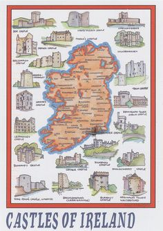 Castles of Ireland. I saw Kilkenny, Blarney, and Bunratty while there last year. Definitely need to go back!