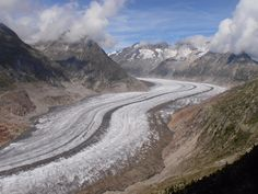 "From Earth Pics HD: ""Aletsch Glacier, Swiss"""