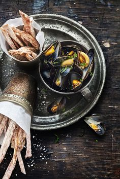 moules frites | photo by guillaumeczerw