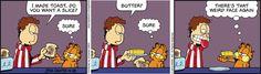 Garfield Cartoon for Apr/18/2013