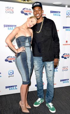 Iggy Azalea, Nick Young. I hope they have love and respect for one another...best wishes!:)