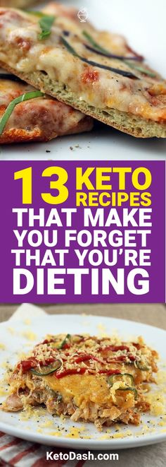 Being on a ketogenic diet can sound intimidating. However, we have 13 keto recipes that'll make you forget you're even on a diet.