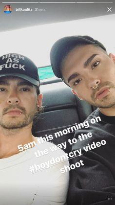 SOURCE: Bill Kaulitz Instagram