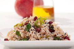 Risotto porri e melograno #Star #riso #porri #melograno #ricette #food #recipes