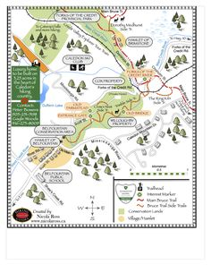 Nicola Ross Hiking Guides Ortelius Showcase | Mapdiva