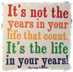 A quote to live by, for sure!