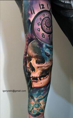 Amazing Skull Tattoos by Igoryoshi