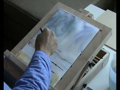 Painting a seascape in water color part 1/2