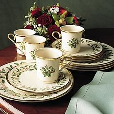 if you are looking for christmas holiday dinnerware sets th at can be used during the holida ys or for special occasions the you will love t - Christmas China Sets
