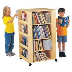 online shopping for Jonti-Craft Media Tower from top store. See new offer for Jonti-Craft Media Tower Organizing Kids Books, Book Organization, Kids Bookcase, Bookshelves, Display Shelves, Shelving, Storage Shelves, Storage Ideas, Storage Units