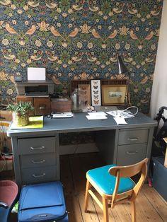 William Morris William Morris, Home Renovation, Corner Desk, Furniture, Home Decor, Homemade Home Decor, Corner Table, Home Furnishings, Interior Design