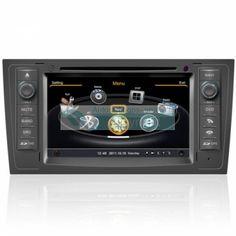 Autoradio Audi A6 - Double Din Autoradio GPS Bluetooth DIVX DVD CD USB SD RDS IPOD 3G TV Pour Audi A6 (1997-2004) Prix spécial : 358,00 €