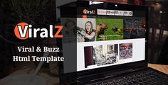 awesome Viralz - Viral &amp Buzz Html Template (Entertainment)