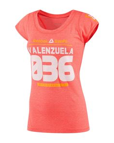 CrossFit HQ Store- Her 2013 Games Authentic Valenzuela Performance Tri-blend Tee - Graphic Tees - Women Buy Authentic CrossFit T-Shirts, CrossFit Gear, Accessories and Clothing