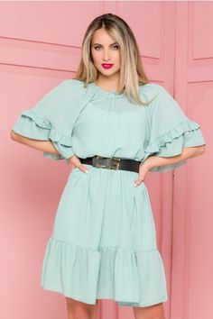 Bell Sleeves, Bell Sleeve Top, Cold Shoulder Dress, Dresses With Sleeves, Long Sleeve, Floral, Casual, Tops, Women